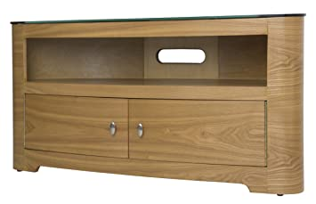 AVF FS1100BLEO-A Blenheim TV Stand with Dual Cabinet Doors - 1100 - Oak