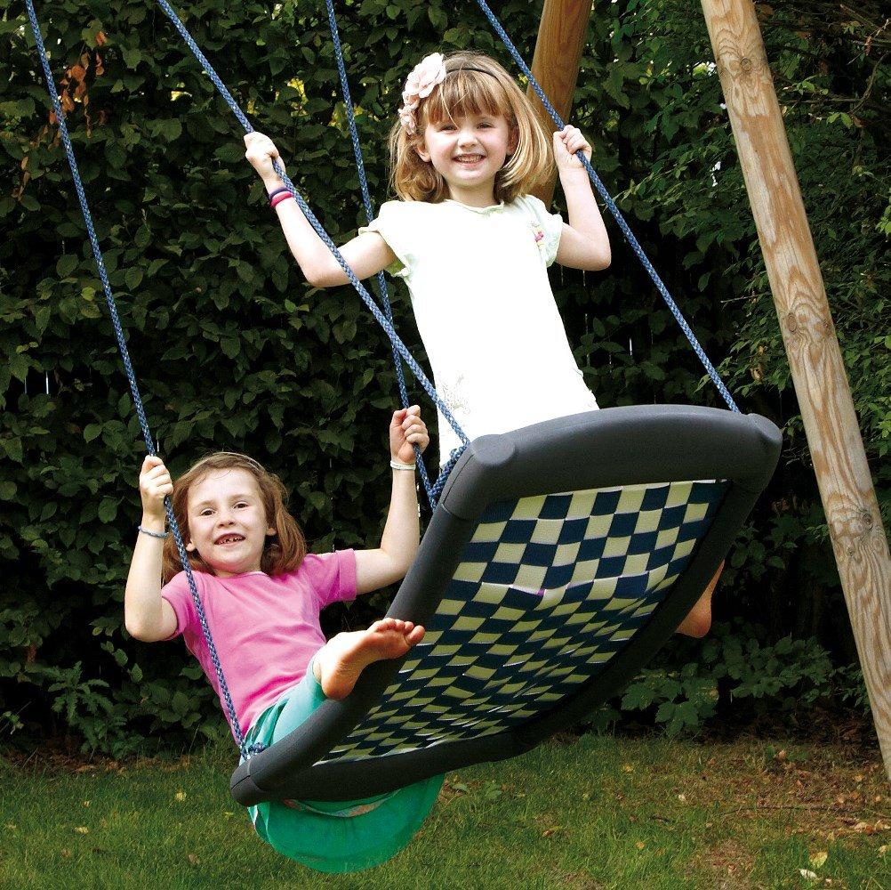 Mehrkindschaukel SPR.M. 101 Standard weiß-blau, Nestschaukel, Familienschaukel, Relaxschaukel, Schaukel. günstig online kaufen