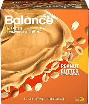 Balance Bar Peanut Butter 6-Count Pack