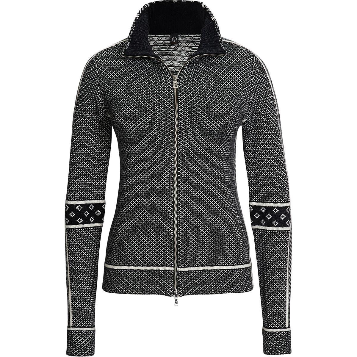 BOGNER FIRE + ICE Damen Strickjacke Carina, Schwarz, 36, 8457-6352 günstig online kaufen