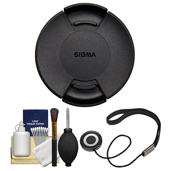 Sigma LCF-67 III 67mm Front Lens Cap with Cap Keeper + Cleaning Kit