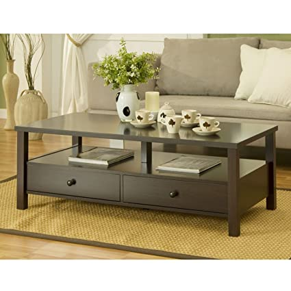 Metro Shop Furniture of America Cottage 2-drawer Coffee Table