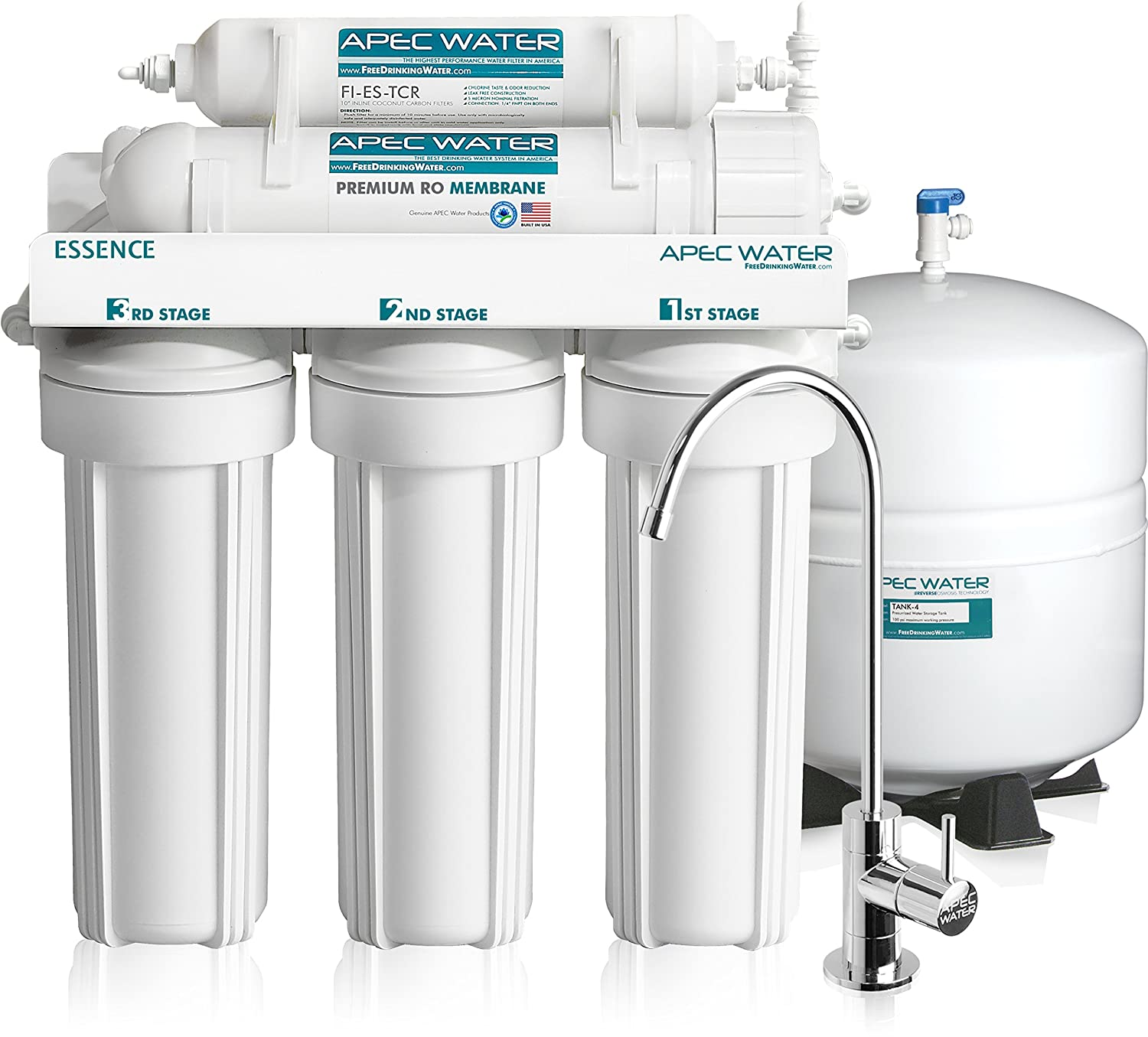 APEC Water ROES-50 Reverse Osmosis Water Filter System Review