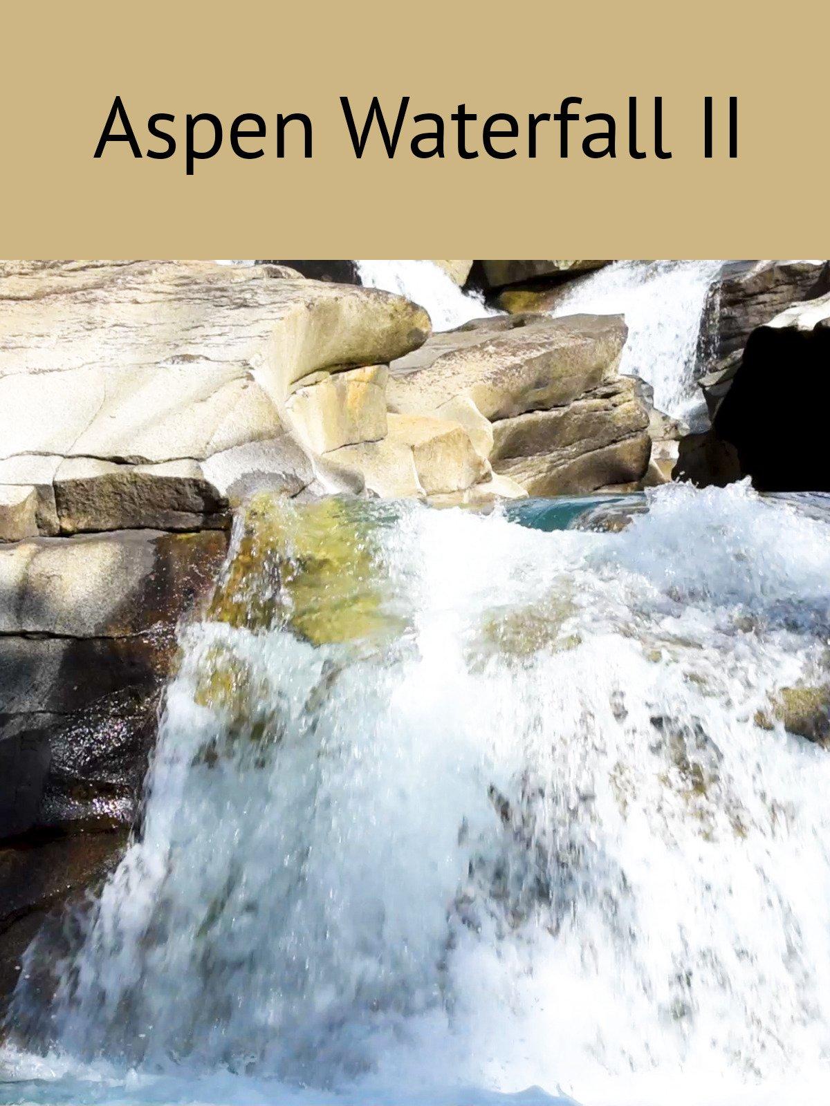 Aspen Waterfall II