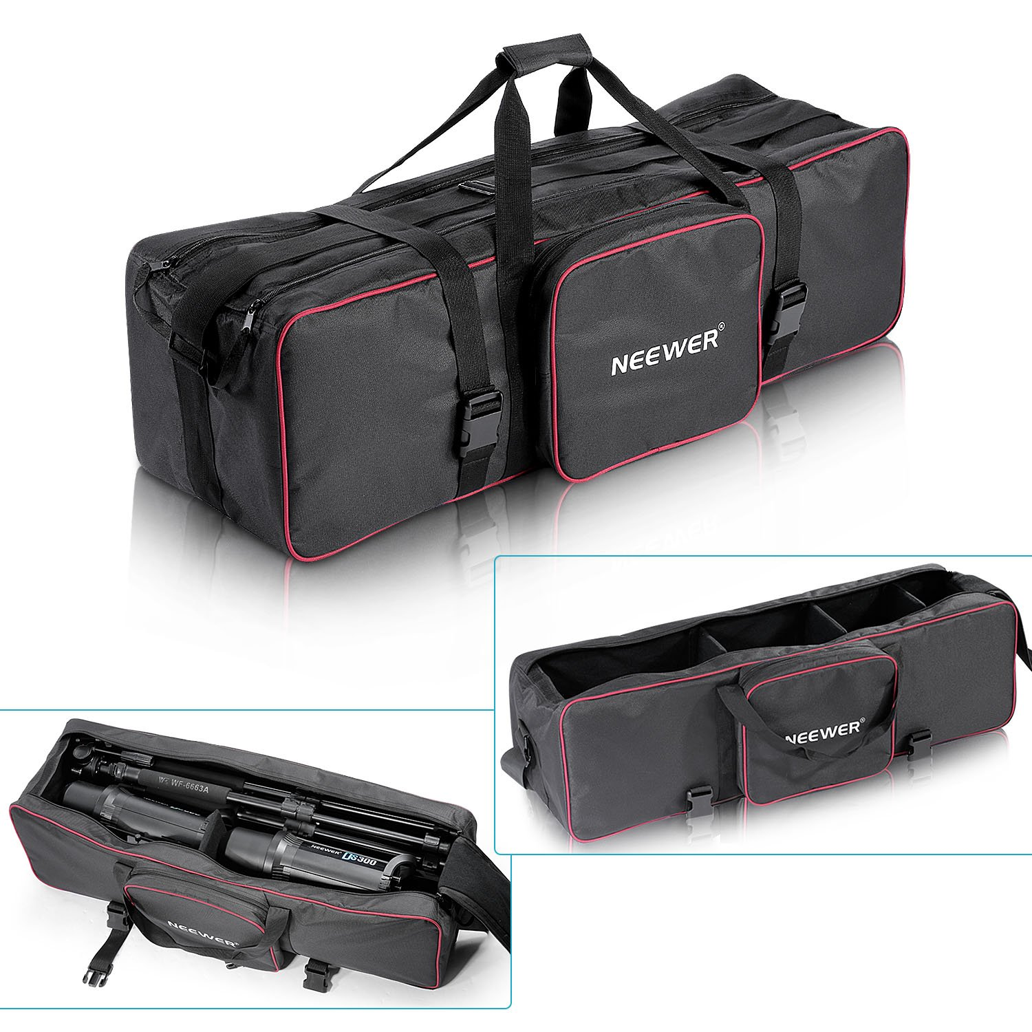 "Neewer® 35""x10""x10""/90 x 25 x 25 cm Photo Studio Equipment Large Carrying Bag with Strap for Tripod Light Stand and Photography Lighting Kit(CB-05)"