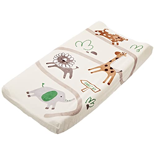 Summer Infant Ultra Plush Change Pad Cover Safari