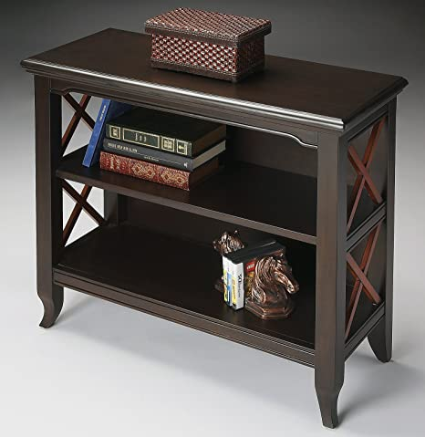Bookshelves - Burnbreigh Bookshelf - Bookcase - Transitional Cherry Finish