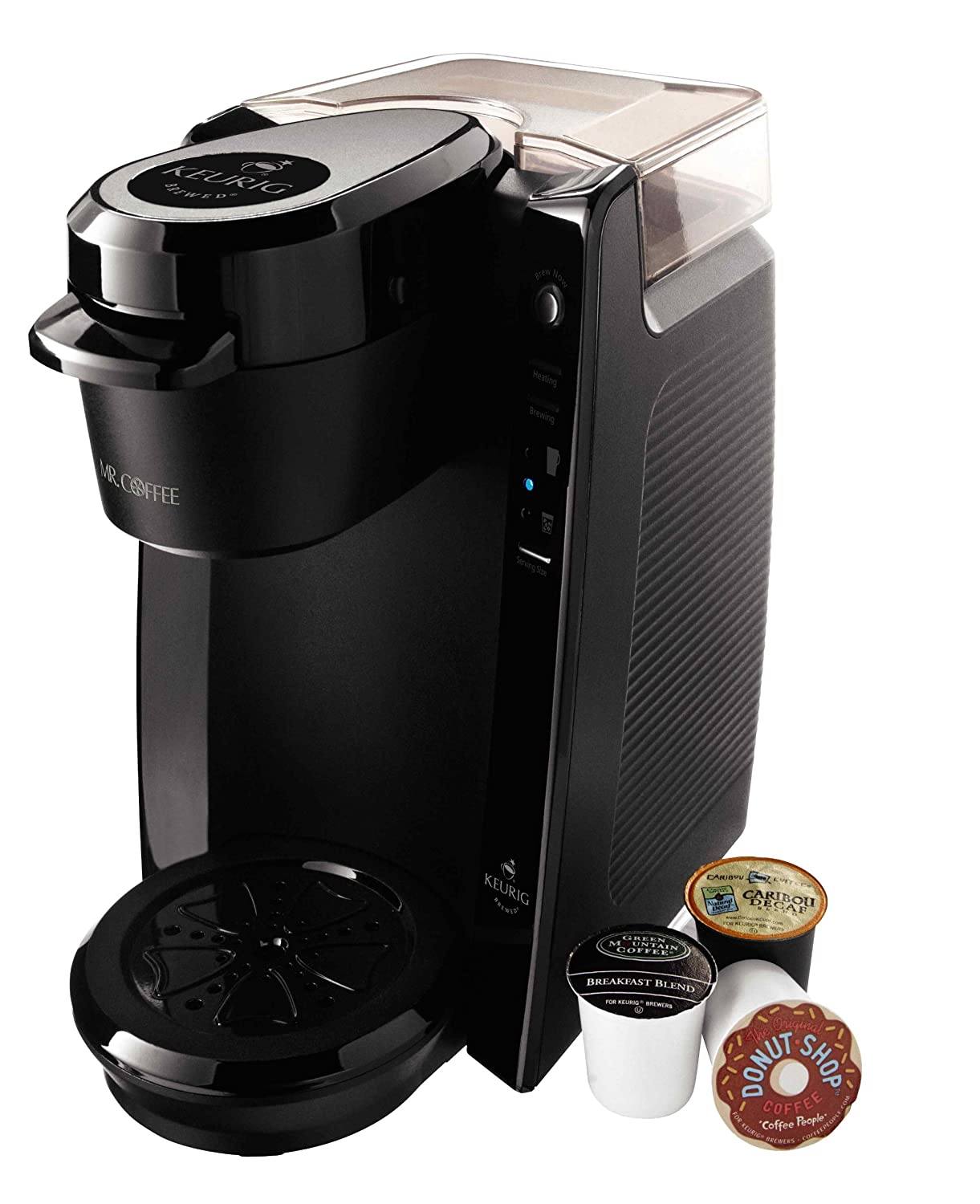 mr coffee bvmckg5001 single serve coffee brewer powered by keurig brewing tec new free shipping - Kcup Coffee Makers