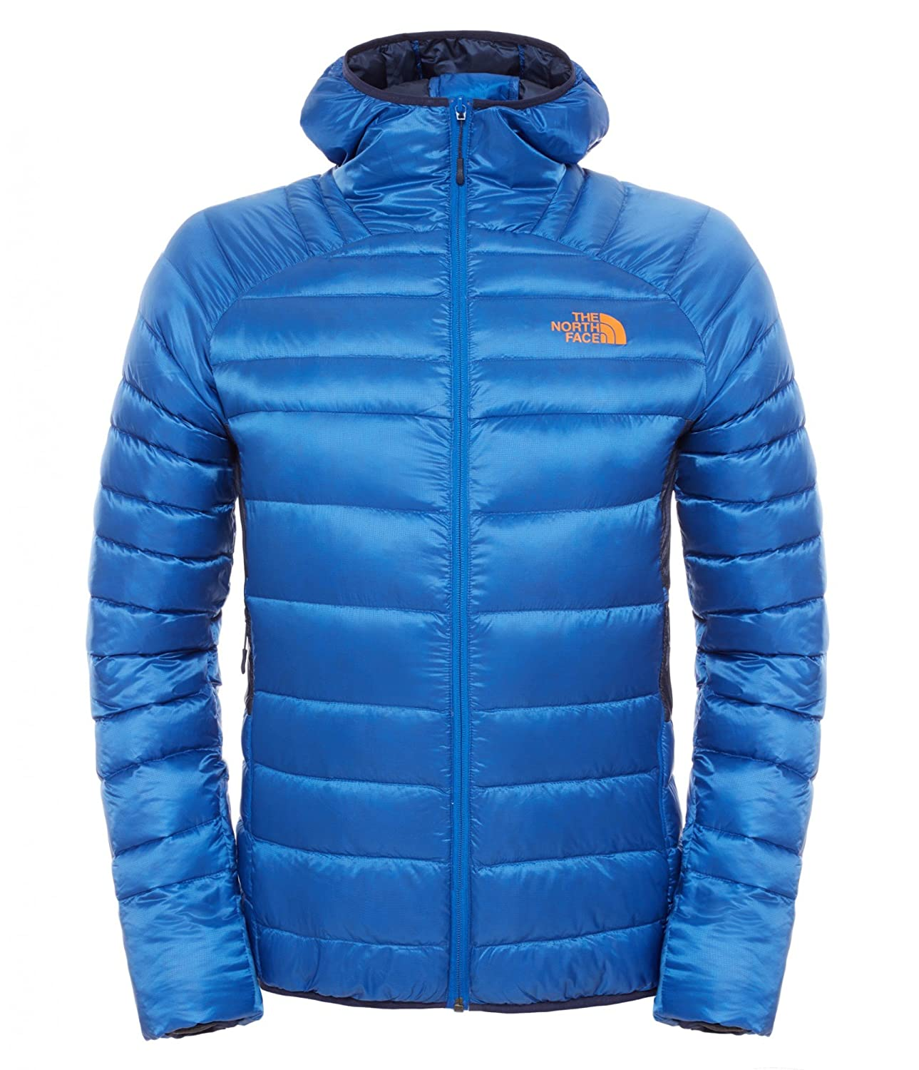 The North Face M Keep IT Pure Hoodie – Monster Blue / Cosmic Blue Print – M – Wasserabweisende warme Herren Daunen Kapuzenjacke günstig bestellen