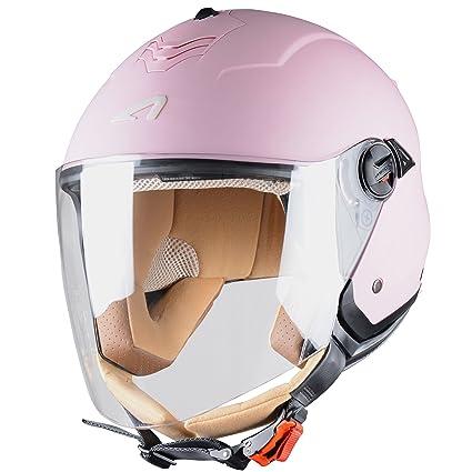 Astone Helmets MINIMS-FLAMINGOM Casque Jet Mini Jet S Flamingo Taille M