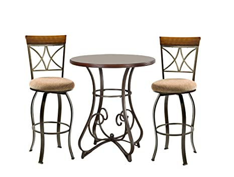 Powell 697-404M1 Hamilton Pub Set, 3-Piece