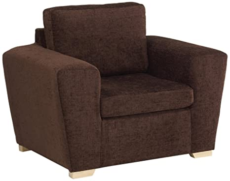 Churchfield Sofabed Dali Chair with Chocolate Fabric, Brown