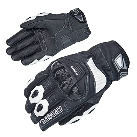 Gants moto Orina Catch - Cuir - Collerette courte - carbolex Protections