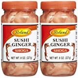 Roland Sushi Ginger, 8 oz, 2 pk