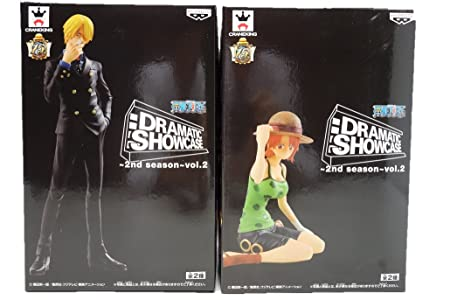 Banpresto - Figurine One Piece - Dramatic Showcase Vol3 Luffy et Zoro 16cm - 4983164491012