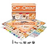 Cat-Opoly Board Game, 19.70 x 10.20 x 1.60 Inches, 730799050060 (Color: Orange)