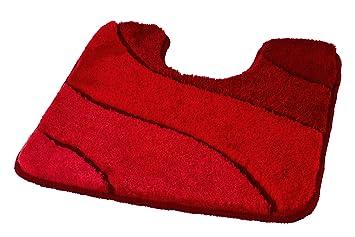 meusch tapis de bain ocean grenat compatible au chauffage par le sol 2220584 grenat 55x50. Black Bedroom Furniture Sets. Home Design Ideas