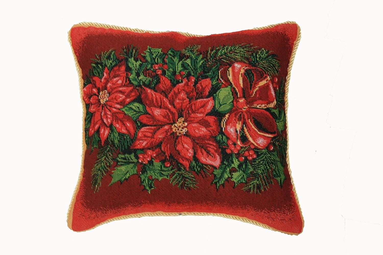 Poinsettia Christmas Throw Pillows Christmas Wikii : 81Zvb1g12BvLSL1500 from christmaswikii.blogspot.com size 1500 x 998 jpeg 223kB