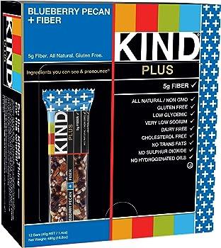 12-Count KIND Blueberry Pecan + Fiber Bars