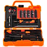 Anseahawk Professional Precision Screwdriver Set (45 in 1) Repair Tools Kit for Smartphone Tablet Laptop Computer Electronics fit iPhone, iPad, Samsung Galaxy/Tab, HTC, LG, OnePlus and More (Tamaño: 45 in 1)