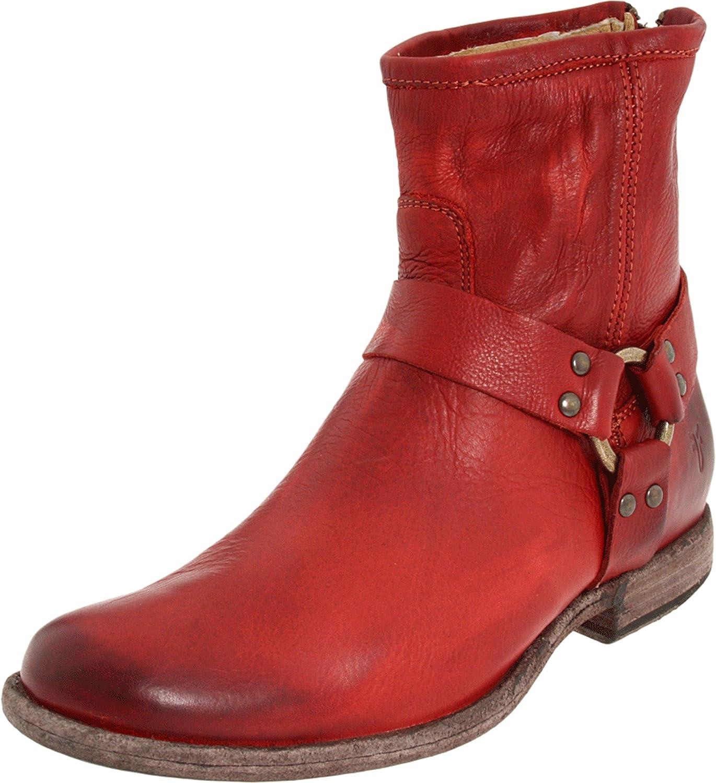 FRYE Women's Phillip Harness Ankle Boot frye women s lucinda short boot