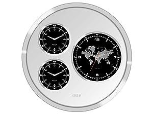 Karlsson Wall Clock Big Tic World Time 60 cm Diameter       Customer reviews and more description