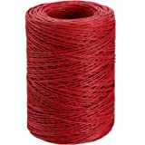 Floral Wire Vine Wire Bind Wire Rustic Wire Wrapping Wire for Flower Bouquets (Red, 673 Feet) (Color: Red, Tamaño: 673 Feet)