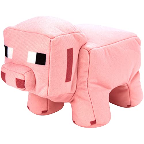 Minecraft Reversible Plush Pig to Porkchop