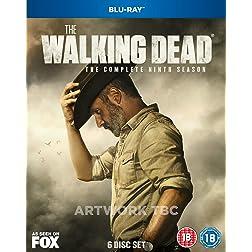The Walking Dead Season 9 2019  Region Free [Blu-ray]