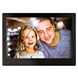 NIX Advance Digital Photo Frame 10 Inch X10H. Electronic Photo Frame USB SD/SDHC. Digital Picture Frame with Motion Sensor. Remote Control and 8GB USB Stick Included (Color: Black, Tamaño: 10 Inch - Widescreen)