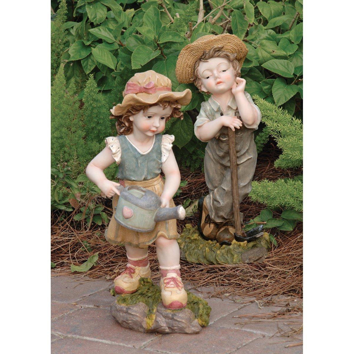 Children Garden Statues. Children Garden Statues I