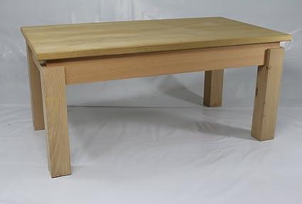 Table basse en bois de marronnier