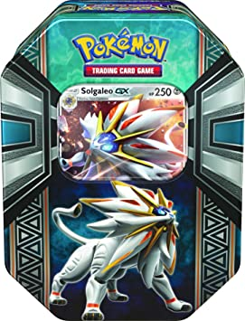 --- Pokémon Boîte de cartes 2017 Légendes d'Alola GX - 1 carte holographique aléatoire (anglais)