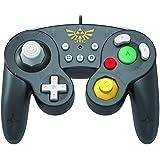 HORI Nintendo Switch Battle Pad (Zelda) GameCube Style Controller - Nintendo Switch (Color: Legend of Zelda)