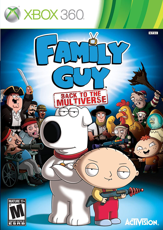 Family Guy: Back to the Multiverse puzo mario the family puzo