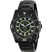 Bulova 98B178 Marine Star Quartz Men's Watch (Black)
