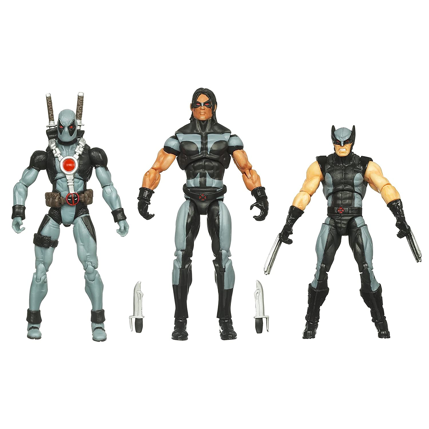 Marvel Universe Super Hero Team X-Force (Wolverine, Deadpool, Warpath) jetzt kaufen