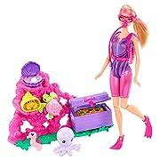 Barbie I Can Be Ocean Treasure Explorer Doll Playset