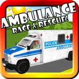 Ambulance Race & Rescue! Toy Car Game For Toddlers and Kids With Siren, Lights, and Racing 3D Action