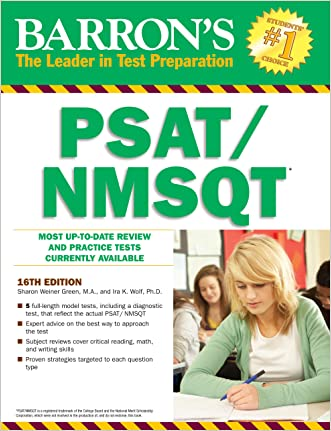 Barron's PSAT / NMSQT, 16th edition (Barron's Psat/Nmsqt)