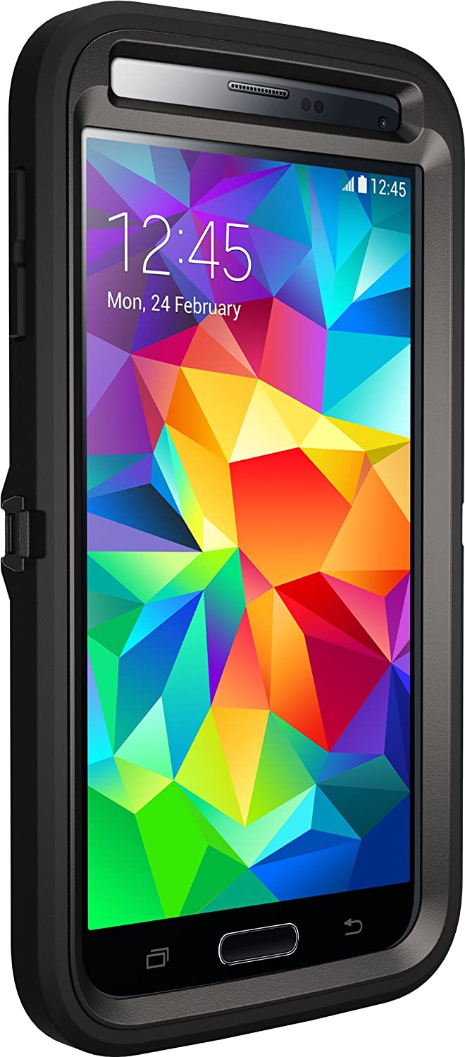 Otterbox DEFENDER SERIES for Samsung Galaxy S5 - Frustration Free Packaging - Black