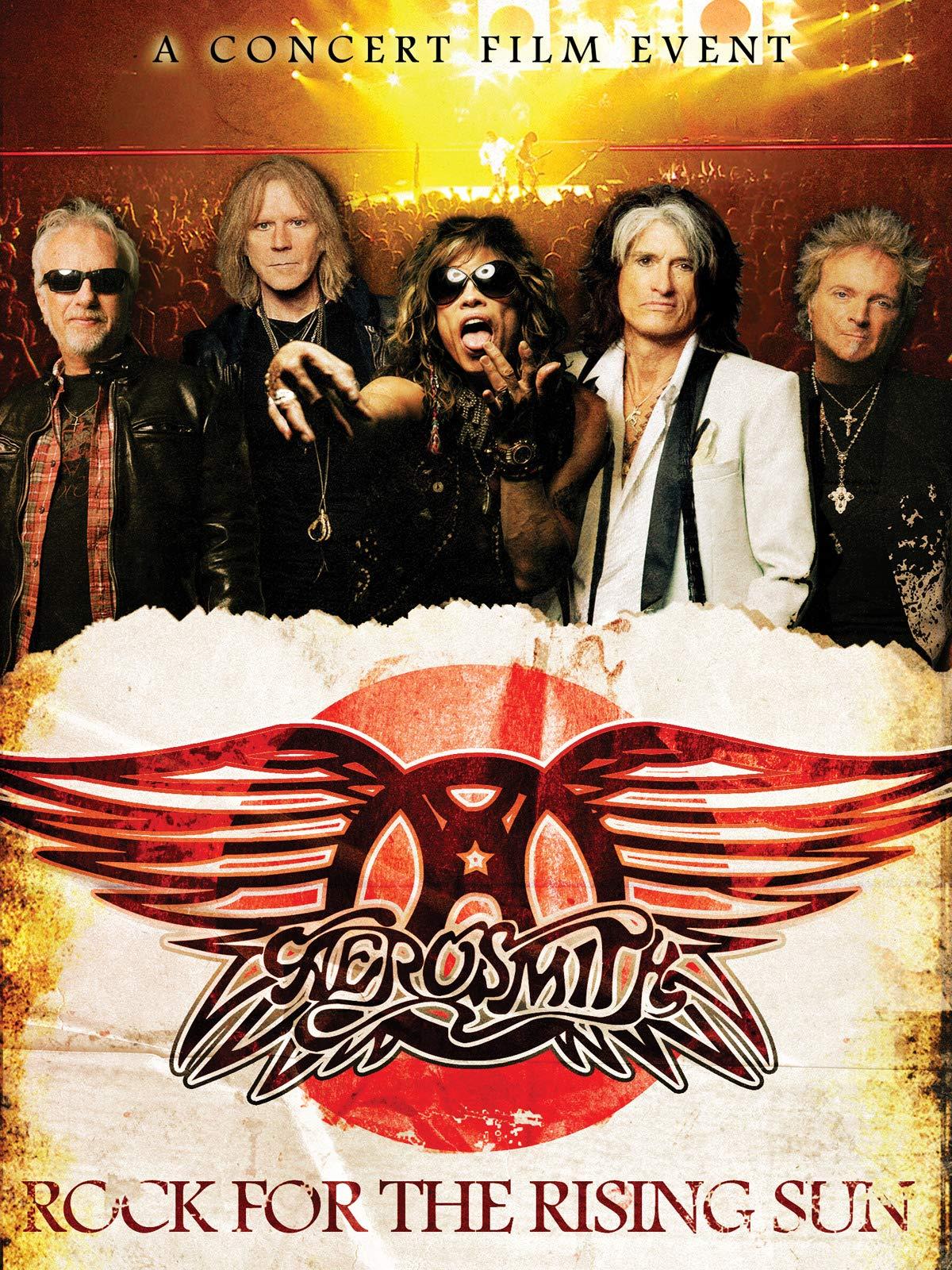 Aerosmith Rock For The Rising Sun