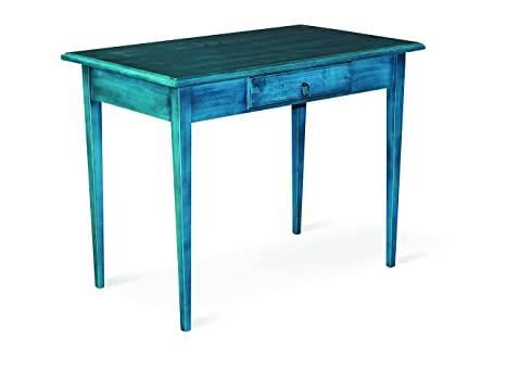 Domus Meuble 000705-n00i4bureau, bois, turquoise, 99x 61x 80cm