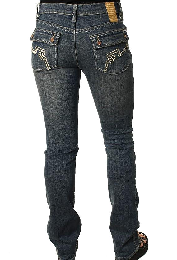 Alpinestars Women's Astars Brazil Jeans Boot Cut Low Rise Slim Fit