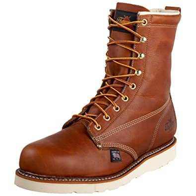 "Men's New Arrival Thorogood American Heritage 8"" Safety Toe Boot On Sale"