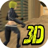 Crazy Roof Backflip Parkour Agent - Racing Stunt 3D