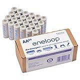 Panasonic BK-3MCA24/CA eneloop AA 2100 Cycle Ni-MH Pre-Charged Rechargeable Batteries 24 Pack (Tamaño: 24-Pack)