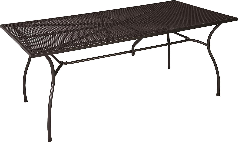 RRR Gartentisch 150 x 90, aus hochwertigem pulverbeschichtetem Streckmetall, rechteckig jetzt kaufen