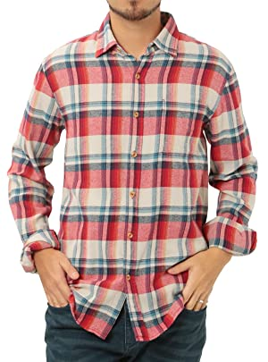 JIGGYS SHOP チェックシャツ メンズ 長袖