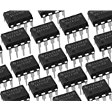 Texas Instruments 20 Pieces UA741CP IC OPAMP GP 1MHZ SGL LP 8DIP 741 UA741, IC OPAMP GP 1MHZ 8DIP, Linear - Amplifiers - Instrumentation, OP Amps, Buffer Amps